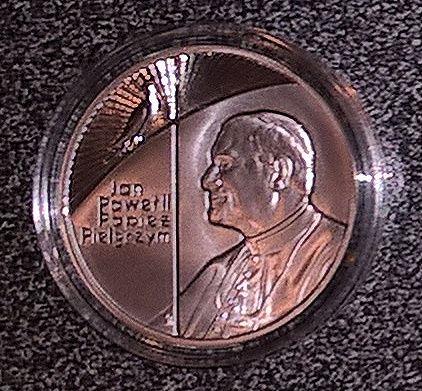 Moneta kolekcjonerska - Jan Paweł II Papież Pielgrzym 10 zł (1999 rok)