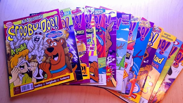 Scooby-Doo komiksy używane w bardzo dobrym stanie