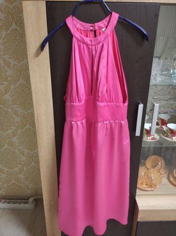 Платье шёлк р 46