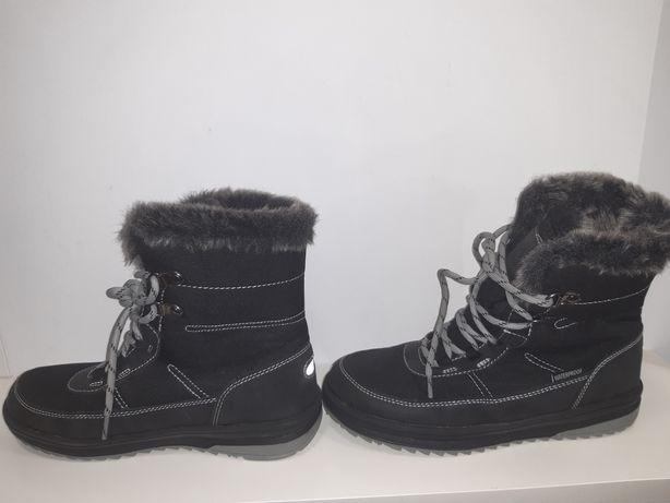 Buty zimowe ocieplane dziewczęce rozmiar 36 Śniegowce firmy Pepperts