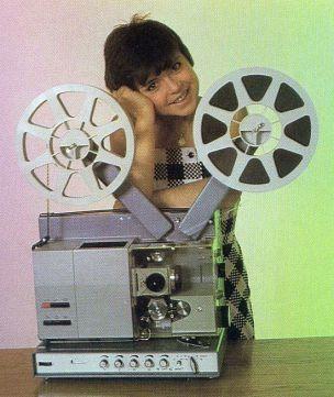 Projektor Filmow Kinowy na Taśmy 16mm Meopla Meoclub 16 S RETRO