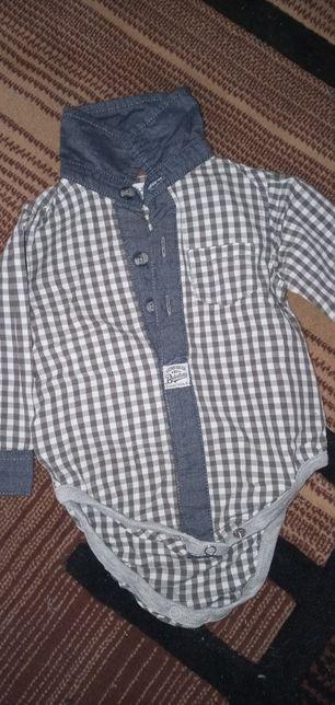 Koszulo-Body chłopięce rozm.68/74