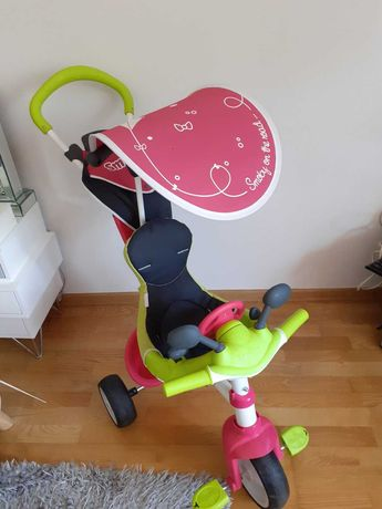 Rowerek Baby Driver Smoby różowy