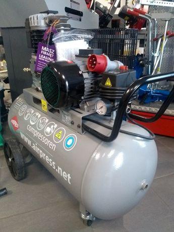 Kompresor warsztatowy 280l/min zbiornik 100l ITALY gwarancja 3lata