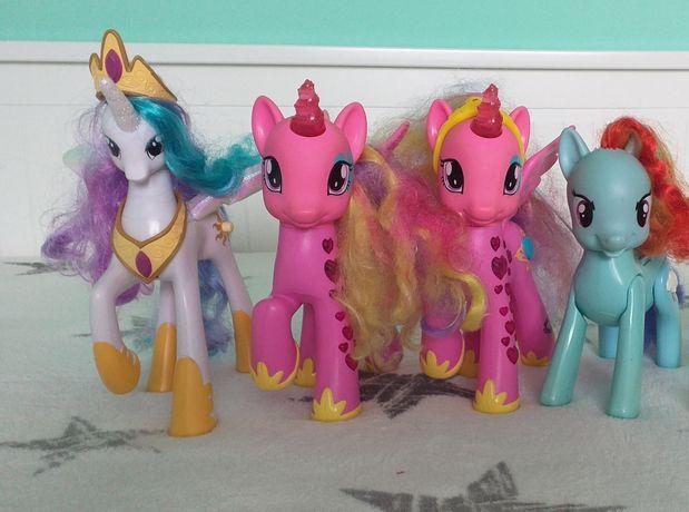 Kucyki pony- zestaw