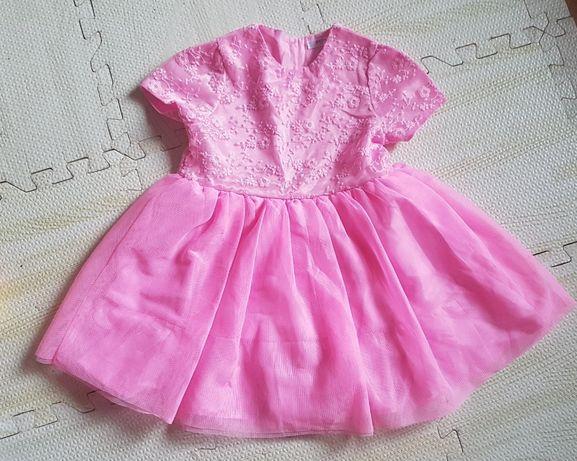 sukienka dla malej ksiezniczki na wesele