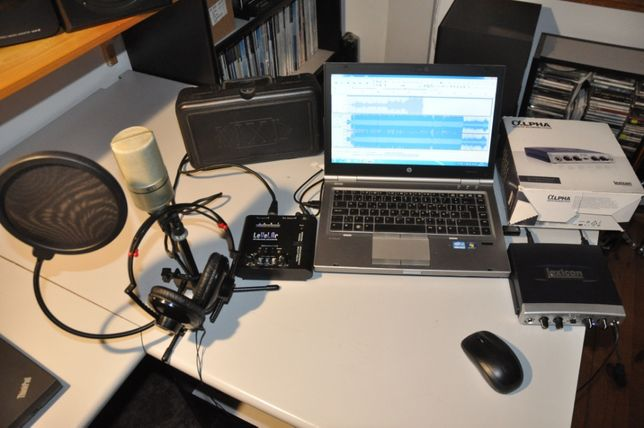 Sprzedam Studio Nagrań: Mikrofon MXL990+LEXICON+Preamp ART+Lapto