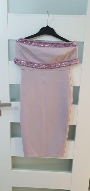 Sukienka Asos lilia cekiny