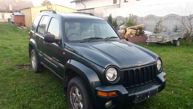 jeep cherokee 2.5 CRD. 2003 rok