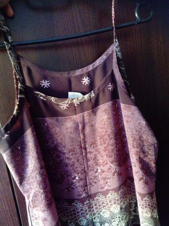 Oryginalna indyjska suknia rozmiar 43 (11 USA) wypordukowana w Meksyku
