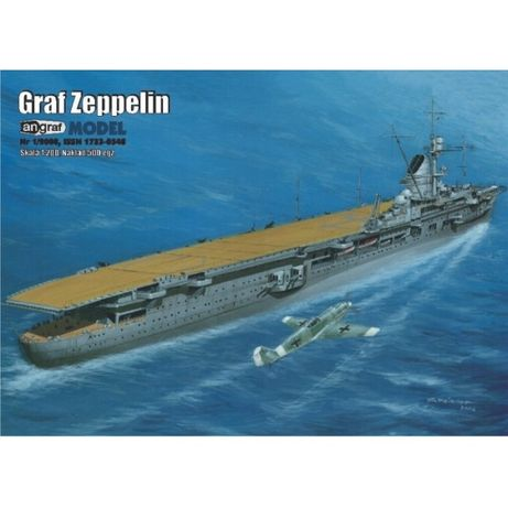 Angraf nr 1/2008 Niemiecki lotniskowiec Graf Zeppelin