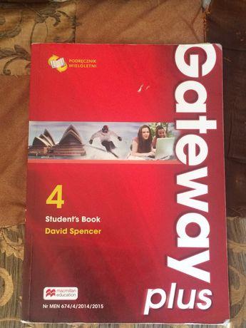Gateway plus 4. Student`s Book Podręcznik wieloletni