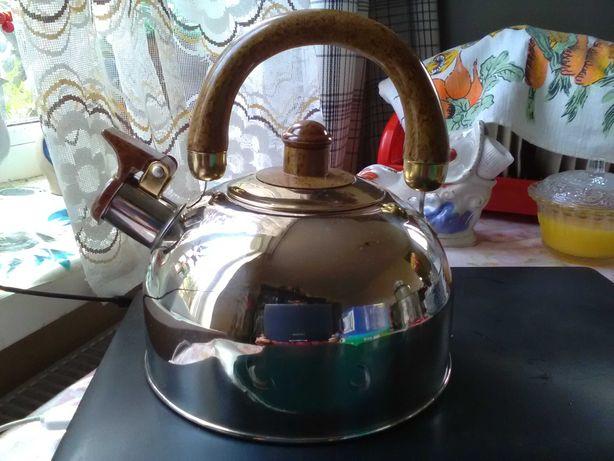 Новый чайник нержавейка 2,5л