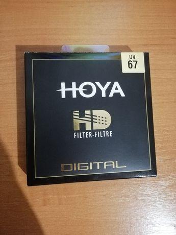 Защитный фильтр Hoya HD UV 67 mm. (Made in Japan)