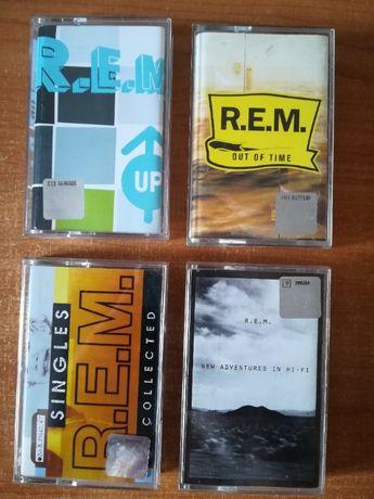 kasety magnetofonowe R.E.M. zestaw