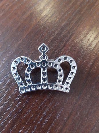 Broszka korona