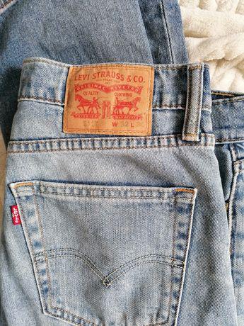 Dżinsy jeansy Levi's z rozdarciami