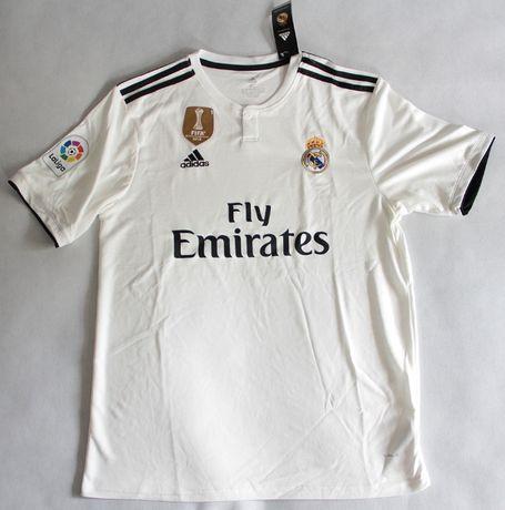 REAL MADRYT home 18/19 koszulka piłkarska Adidas, roz. XL