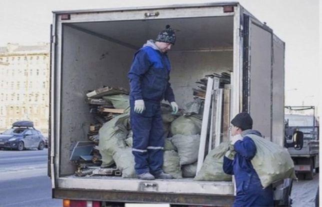 Вывоз мусора от 500 грн Газелью строй хлама мебели