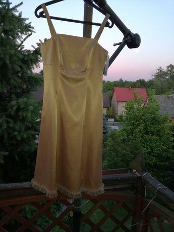 Wizytowo-wieczorowa sukienka - STUDIO MODY FRANCOISE - NOWA !!