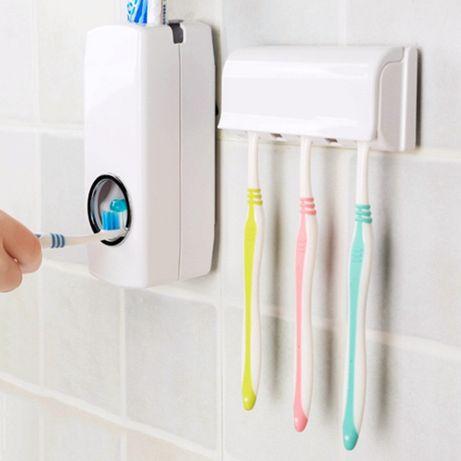 Автоматический дозатор для зубной пасты, подставка для щеток JX-1000