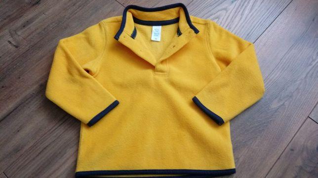 Bluza polarowa polar żółty nowy 92 C&A