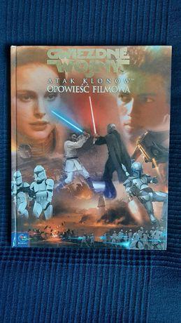 Gwiezdne Wojny Atak Klonów Książka Opowieść Filmowa