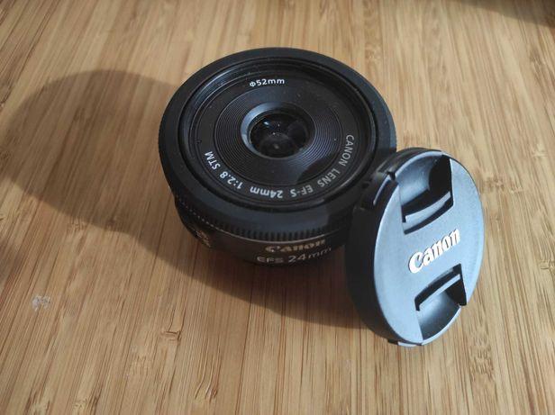 Objetiva CANON EF-S 24MM 2.8STM