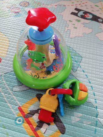 Karuzela bączek kluczyki zabawki