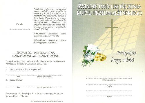 Kurs przedmałżeński plus poradnia