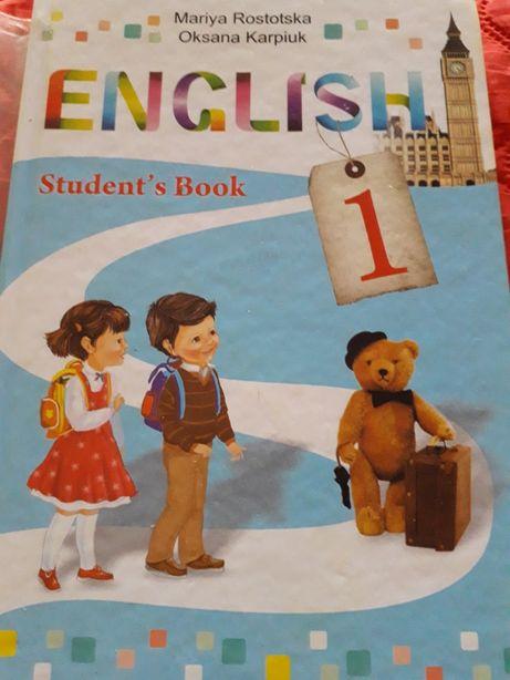 Продам учебник по английскому языку 1 класс Карпюк