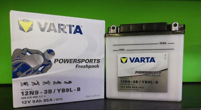 Akumulator motocyklowy Varta 12N9-3B YB9L-B 12V 9Ah 85A