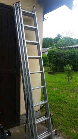Драбина алюминиевая 3секцииx9 лестница