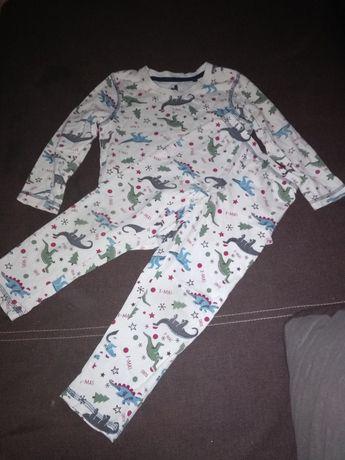 Piżamka chłopięca w dinozaury