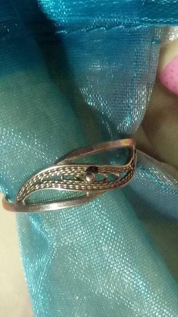 Imago Artis srebrny stary pierścionek filigran