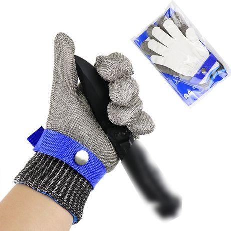 Выгодно! Перчатка кольчужная с нержавеющей стали +1 перчатка в подарок