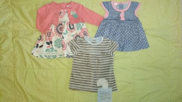 Платье платья 0-3 месяца