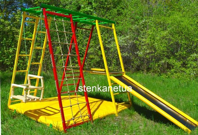 Детская игровая площадка, горка, майданчик, комплекс, уголок