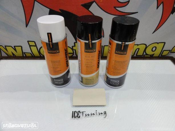 Spray reparação e pintura + limpeza + primario Bege Mate volantes e interior
