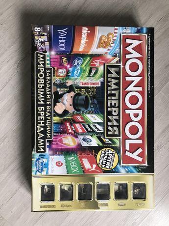 Монополия Империя. Завладейте ведущими новыми брендами