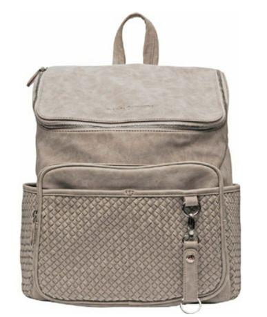 Plecak torba do wózka Little Company Braided Grey