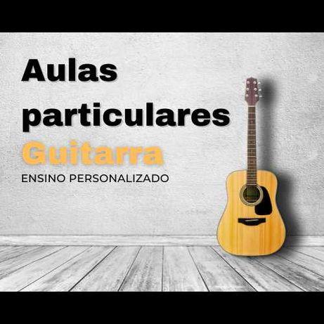 Aulas de música - Professor de Guitarra // PRESENCIAL - ONLINE