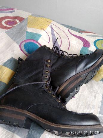 Кожаные стильные ботинки, VAGABOND