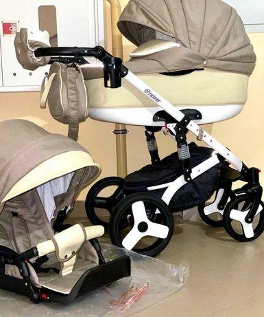 Детская коляска 2 в 1, люлька, прогулочный блок