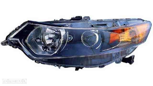 Farol Esquerdo Eletrico Honda Accord 08-10