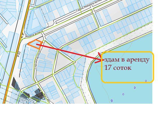 Сдам в аренду 17 соток земли на трассе Р 02 в Вышгороде