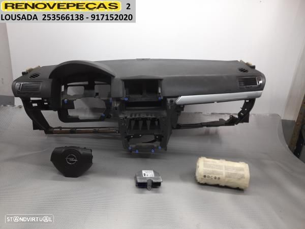 Kit De Airbags C/Tablier Opel Astra H (A04)