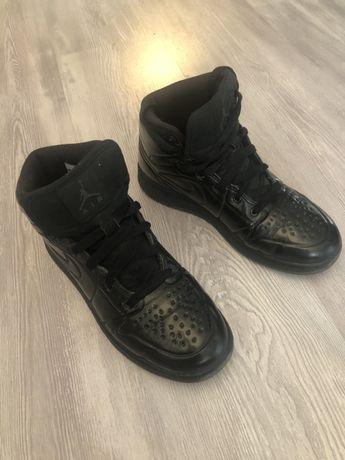 Buty sportowe Nike Jordan czarne lakier oryginał
