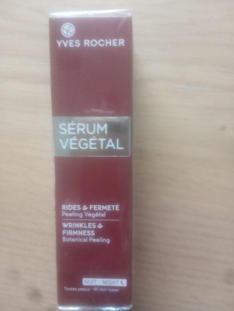 Yves rocher peeling botaniczny serum vegetal na noc nowy