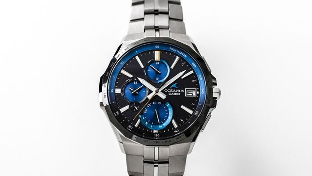 Часы Casio Oceanus OCW-S5000E-1A! NEW! Гарантия 2 года!